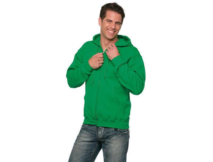 heavyweight Blend Adult Fullzip Hooded Sweatshirt