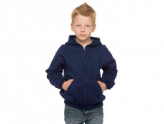 Full Zip Blend Youth Hooded Sweatshirt